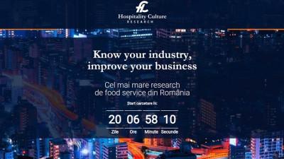 Hospitality Culture lansează cel mai mare food service research din Romania