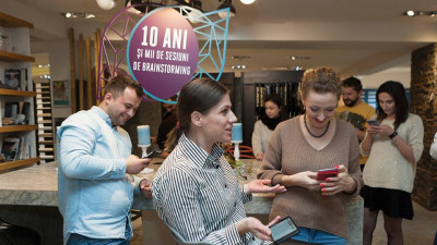De Black Friday, The Marks și PIATRAONLINE au invitat influencerii să transforme showroomul într-un loc de joacă