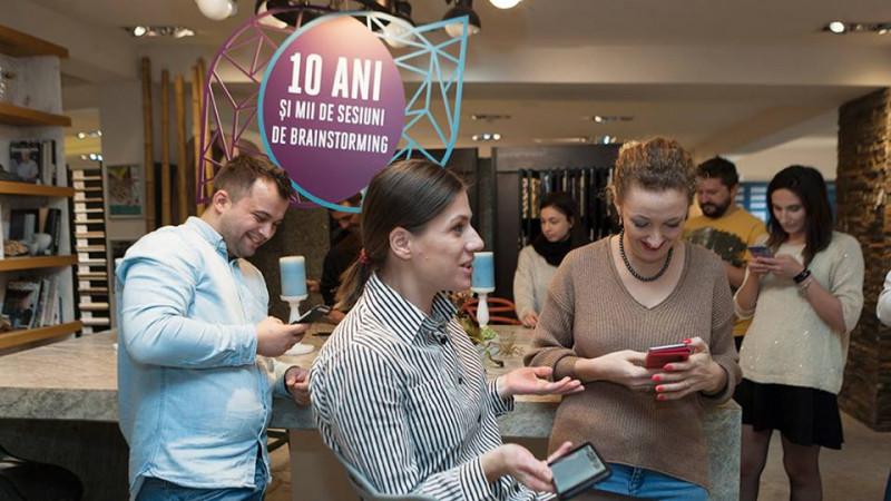 De Black Friday, The Marks și PIATRAONLINE au invitat influencerii să transforme showroomul într-un loc de joacă