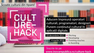 Culture Hack scoate cultura din tipare