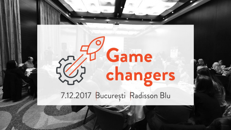 Game changers. A conference for Project Managers today: cum să dezvolți echipe performante și să te adaptezi într-un mediu de business dinamic
