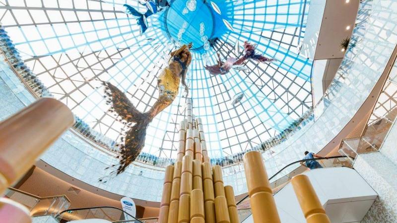 Atlantida pierduta, regasita in Bucuresti Mall