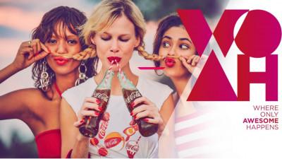 Coca-Cola a lansat WOAH: aplicația must-have pentru tinerii din România