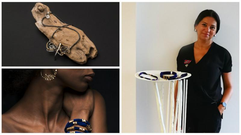 Diana Tobosaru, de la publicitate la bijuterii: Poti transmite ceva despre tine cu ajutorul a ceea ce porti. Si viata este o scena, nu?