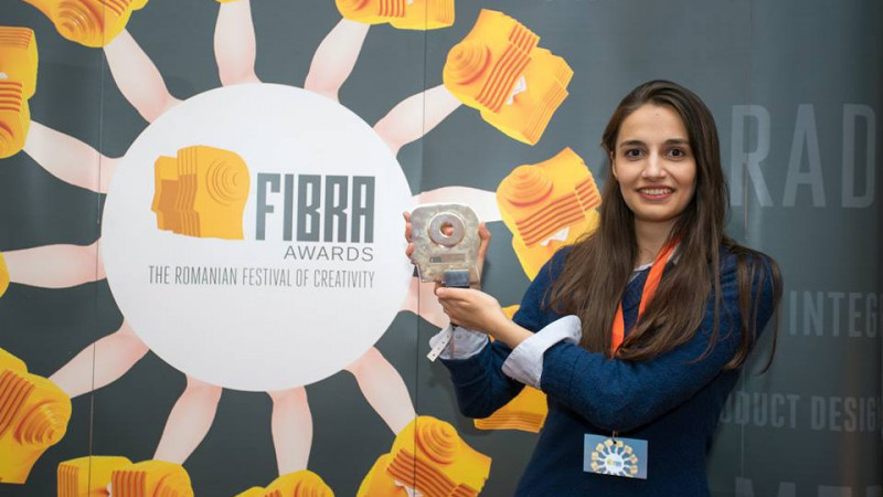 Gold la Young FIBRA pentru Doina Goian, cea care masoara timpul in vloguri