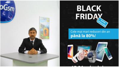 Black Friday 2017: EuroGsm anunță reduceri de până la 80% la sute de produse