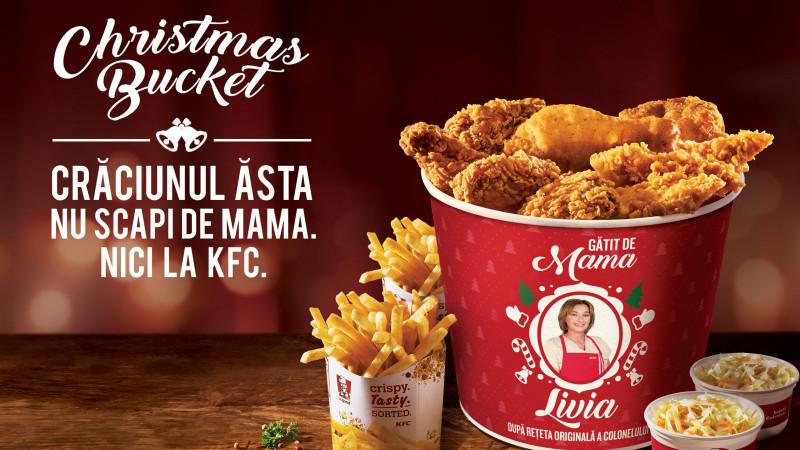 KFC te invită să întâmpini sărbătorile de iarnă cu Christmas Bucket, produs în ediție limitată