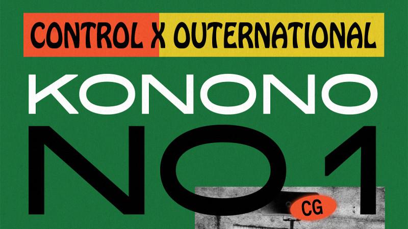Control x Outernational. KONONO NO.1 (Congo)