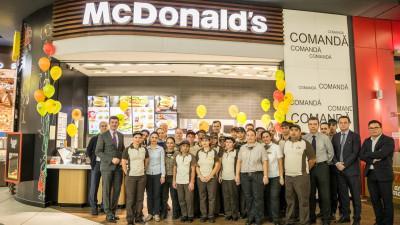 Cel de-al 70-lea restaurant McDonald's din România se deschide astăzi în Mega Mall