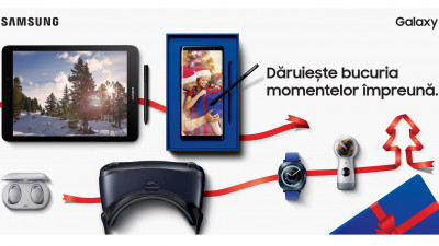 Samsung celebrează bucuria de a dărui în noua campanie de sărbători