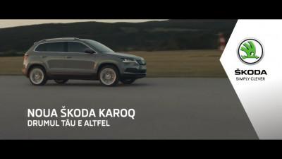 Noua ŠKODA KAROQ - un altfel de drum și o altfel de voce