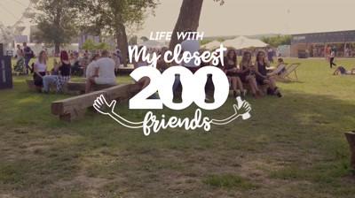 [Bronze FIBRA / Social Media & Brand Promotions @ Premiile FIBRA #2] My Closest 200 Friends / Coca-Cola / McCann