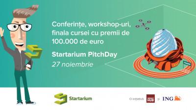 70 de startup-uri se pregătesc pentru finala Startarium PitchDay din 27 noiembrie