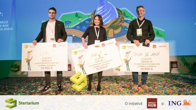 700 de antreprenori și premii de 100.000 de euro la Startarium PitchDay. NALU a câștigat trofeul celei de-a doua ediții
