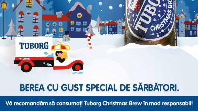 Tuborg Christmas Brew dă tonul sărbătorilor de iarnă în România