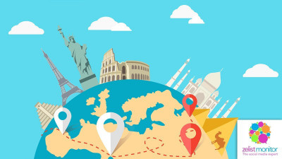 Cele mai vizibile branduri de turism in online si pe Facebook in luna octombrie 2017