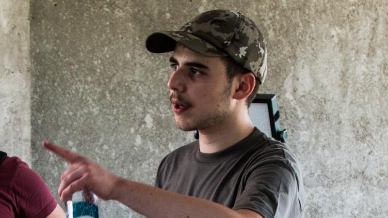 Elev intr-a noua, Luca Vasile are deja cativa ani de experienta regizorala