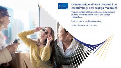"""Publicis şi Visa România lansează promoţia """"Convinge-i pe ai tăi să plătească cu Visa"""""""