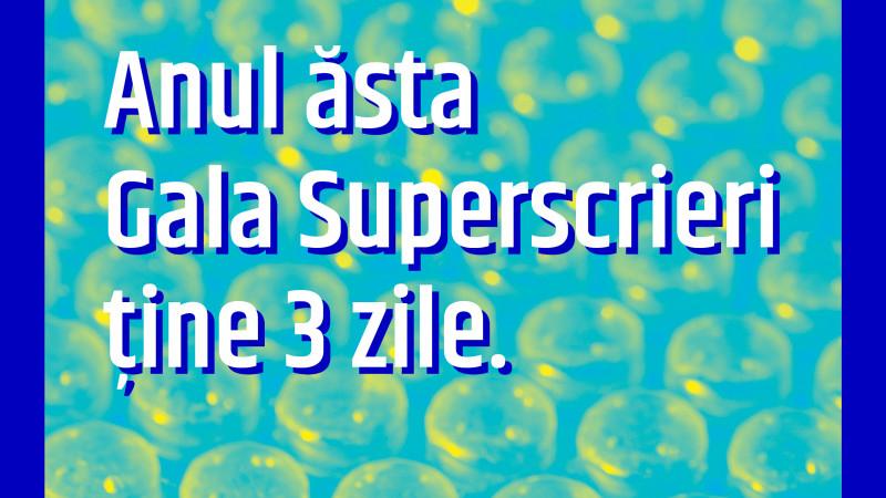 Zilele Superscrieri: mini-congres de New Journalism, 18-19 noiembrie @Apollo111