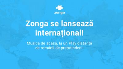 Zonga, aplicația românească de muzică, se lansează internațional #ZongaInternational