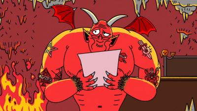 Pana si Satana are suflet bun in reclame