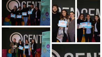 Câştigătorii CompetiţIAA 7 au fost premiaţi în cadrul Galei Aniversare de 10 ani de IAA Young Professionals