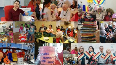 Peste 100 de inițiative din România au marcat ziua mondială a faptelor bune Giving Tuesday