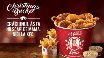 Fanii KFC din întreaga lume sărbătoresc vacanța de iarnă cu Christmas Bucket-uri în ediții limitate