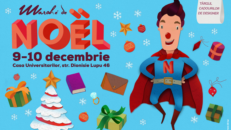 NOËL NOUă intră în scenă! He's a superhero, he's cool and he is très chic