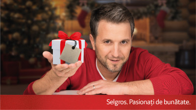 "Selgros si clientii sai doneaza carti, jucarii si resurse financiare prin campania ""Selgros iti dubleaza bunatatea"""