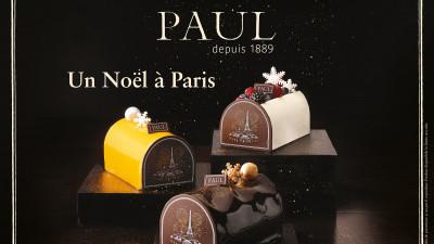 Deserturile Noël, în ediţie limitată, se întorc în brutăriile Paul
