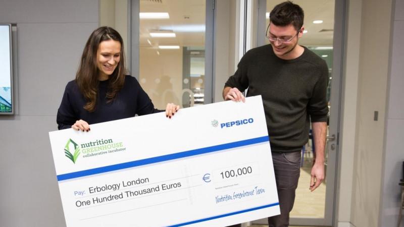 PepsiCo oferă un grant de 100.000 euro unui start-up fondat de doi tineri din Republica Moldova, în cadrul programului Nutrition Greenhouse