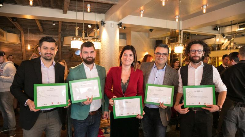Cei mai activi jucători din mediu, premiați de Recolamp și Let's do it, Romania!