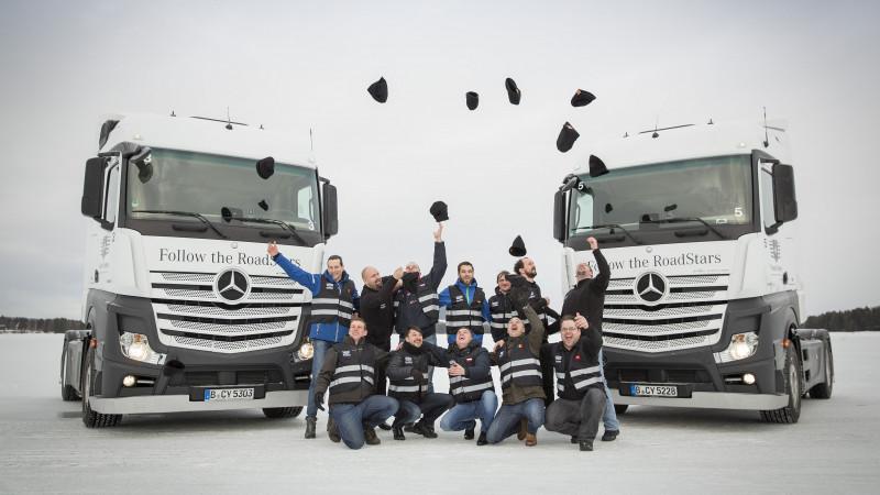 RoadStars by Mercedes-Benz Trucks - retrospectiva anului 2017