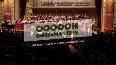 [Shortlist @ Premiile FIBRA] Oh Christmas Tree 2016 / Conservation Carpathia / Friends\TBWA