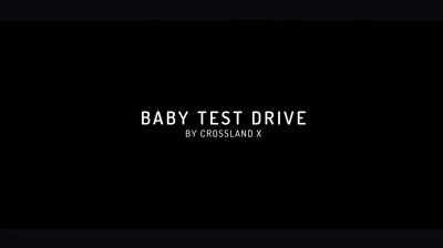 [Shortlist @ Premiile FIBRA] Opel Baby Test Drive / Opel Crossland X / Geometry Global Bucharest