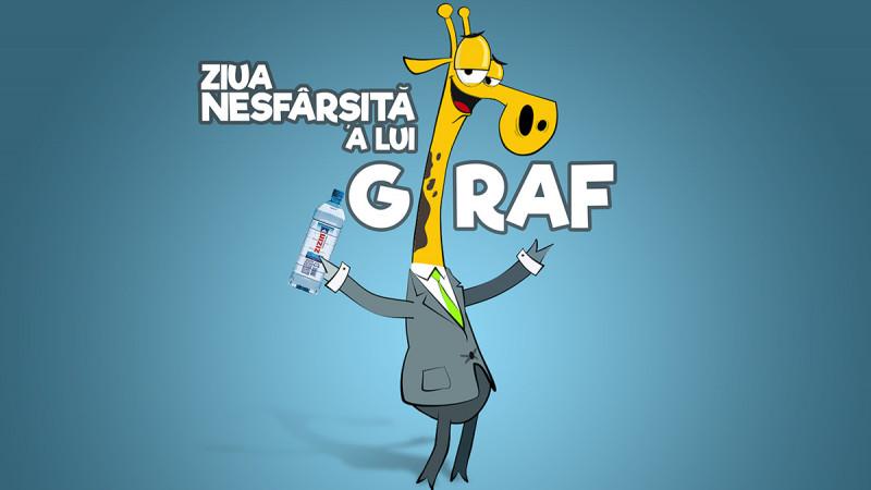 """""""Ziua nesfârșită a lui Giraf"""", proiectul online dezvoltat de ZIZIN și MullenLowe, a obținut 3 premii importante în cadrul festivalurilor naţionale de creativitate"""