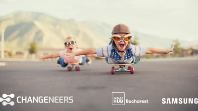 Changeneers - Comunitatea pentru tehnologie cu impact, un proiect marca Impact Hub Bucharest și Samsung România