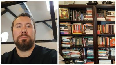 """[Bibliografii personale] Bogdan Răileanu: """"Facebook e cartea care m-a frustrat cel mai mult. E o lectură continuă, zilnic câteva pagini, din ce în ce mai des frustrante"""""""