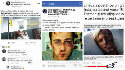 Săriți, românii bat personaje din Fight Club, Batman și Breaking Bad