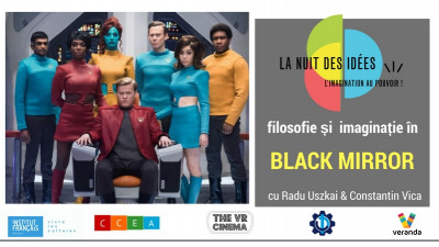 Filosofie și imaginație în Black Mirror, la THE VR CINEMA din Veranda Mall
