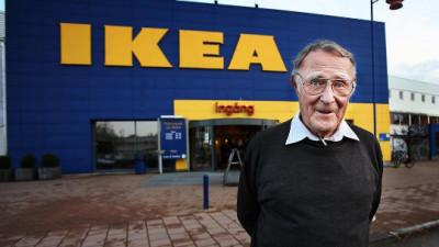 Omagiu glumeț la moartea fondatorului Ikea
