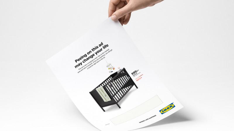 Ikea vrea să faceți pipi pe reclama lor