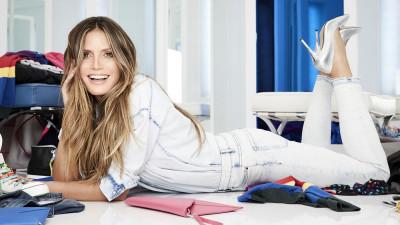 #LETSDENIM: A treia colecție de modă semnată de Heidi Klum pentru Lidl, cu piese denim, pentru adulți și copii