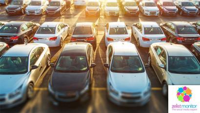 Cele mai vizibile branduri de masini in online si pe Facebook in luna octombrie 2019