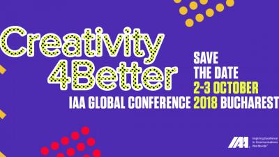 Notează data în calendar: Conferința Globală IAA 2018
