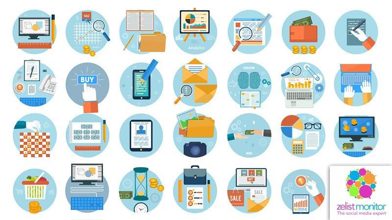 Cele mai vizibile branduri din categoria Servicii Online in online si pe Facebook in luna decembrie 2017
