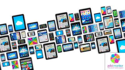 Cele mai vizibile branduri pentru categoria Telecommunication in online si pe Facebook in luna decembrie2017