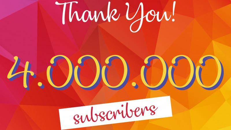 Cat Music, cel mai puternic canal de YouTube din Romania. Peste 4 milioane de abonati si peste 4,5 miliarde de vizualizari