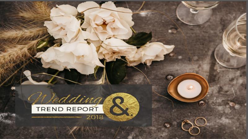 Wedding Trend Report: Tendintele in organizarea de nunti pentru 2018